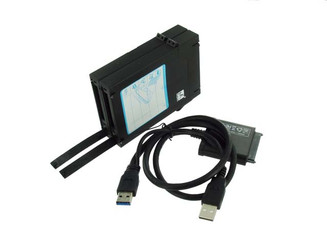 Mukii ZIO-P215U3S-BK 2.5in SATA HDD to USB3.0 Adapter/Protection Case
