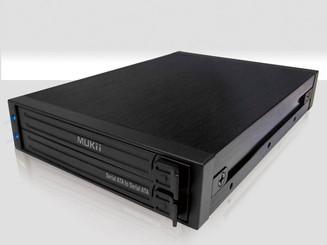 Mukii TIP-M200ST-BK Dual 2.5in SATA SSD/HDD Mobile Rack