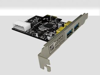Mukii TIP-PU301 Dual USB3.0 Port PCI-E Host Card