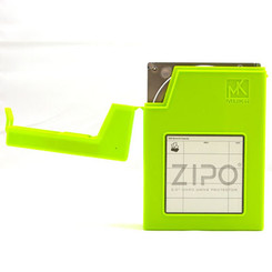 Mukii ZIO-P010-GR ZIPO 3.5in HDD Protection Storage  (Green)