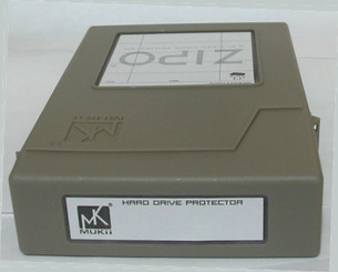 Mukii ZIO-P010-GY ZIPO 3.5in HDD Protection Storage  (Gray)