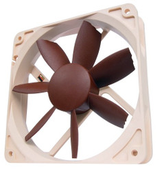 Noctua NF-S12B FLX Bevelled Speed-Controlled 120x120x25 mm Fan