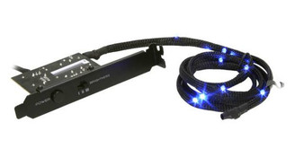 NZXT Sleeved LED Kit - Blue (2m/78.74inch)
