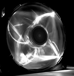 NZXT RF-FZ120-W1 Airflow 120mm White LED Case Fan
