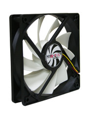 NZXT FN 140RB 140x140x25mm 9 Blade Sleeved Cable Fan