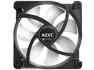 NZXT RF-FN142-RB FN V2 Anti-Vibration Sleeved Cable 140mm Fan
