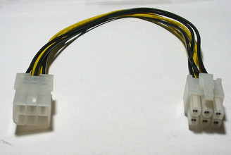 12inch PCI Express 6Pin Extension Cable (PCI-6P-EX)
