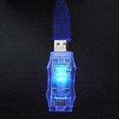 OK130 USB2.0 Data Flash LED Adapter (Blue/Red)