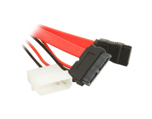 CB-SATA-SD67 Slimline SATA Cable with Serial ATA Female/Molex Power Connector