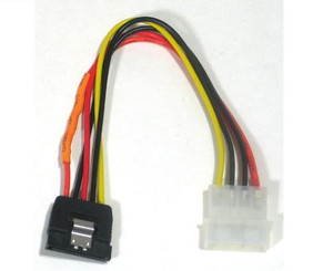 GC8ATAL 8inch 4Pin Molex to 15Pin SATA Power Cable