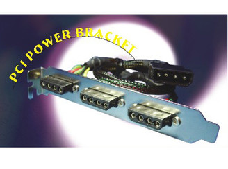 O303 PCI Power Bracket (3 x 4Pin connectors)