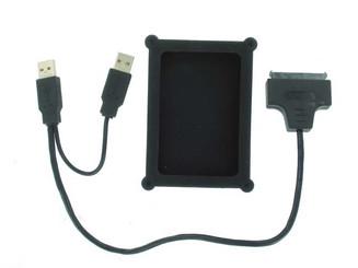 OK108 2.5inch SATA HDD USB2.0  Adapter  w/ Silicon Protector