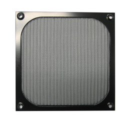 GALAXY 140mm Anodized aluminum fan filter (Black)