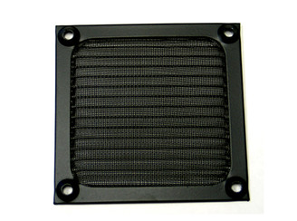 GALAXY 92mm Anodized aluminum fan filter (Black)