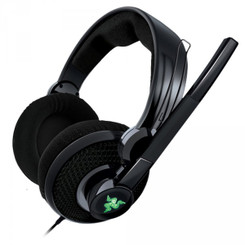 Razer RZ04-00900100-R3U1 Carcharias Gaming Headset for Xbox 360/PC Headphone