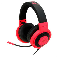 Razer RZ04-00871200-R3M1 Kraken Pro Neon Analog Gaming Headset Red
