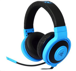Razer RZ04-00870800-R3M1 Kraken Pro Neon Analog Gaming Headset Blue