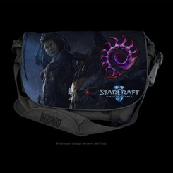 Razer RC21-00270201-R3M1 StarCraft II Zerg Edition Messenger Bag