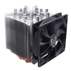 Scythe SCNJ-3100 Ninja 3 Rev. B Eight Heatpipe M.A.P.S. 120mm Fan CPU Cooler