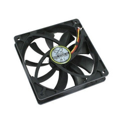 Scythe Kaze-Jyuni 120mm Case Fan,SY1225SL12SL,500 rpm
