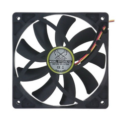 Scythe Kaze-Jyuni 120mm Case Fan,SY1225SL12L,800 rpm