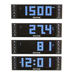 Scythe Kaze Chrono KM07-BK (black) 4Ch (12W/Ch) LCD Fan Controller