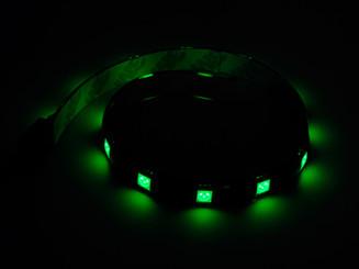 Silverstone SST-LS01V (Green) 300mm 15 LED Plastic Strip
