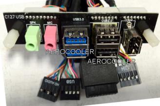Silverstone G11303730 USB3.0 Upgrade Kit (25inch,1xC127 USB, 2xAudio, 2XUSB3.0,2xUSB2.0,1xFW)