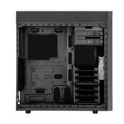 Silverstone SST-KL05B-W (Mesh front panel, steel body) ATX/MATX Black Case