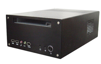 Silverstone SST-LC12B (black) Small Form Factor HTPC Case
