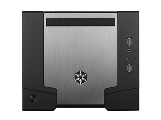 Silverstone SST-SG07B-W-USB3.0 (black+window) Sugo Series Mini-ITX SFF Case (600W)