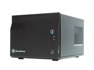 Silverstone SST-SG06B-USB3.0 (Black)  Mini-ITX SUGO Case w/ 300W