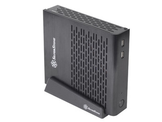 Silverstone SST-PT13B (black) Petit Series Ultra Compact Thin Mini-ITX Case