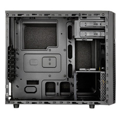 Silverstone SST-PS11B-Q (Plastic front panel, steel body) ATX/MATX Black Case