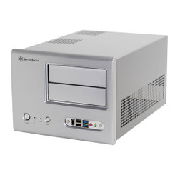 Silverstone SG01S-F-USB3.0 Silver Small Form Factor Case (No PS)