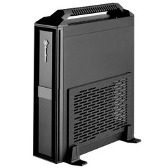 Silverstone SST-ML08B-H (Black + Handle) Mini-ITX  SFX  Super Slim Desktop/HTPC Case