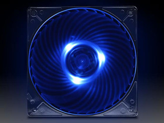 Silverstone Blue LED (AP121-BL) Air Penetrator 120mm Fan