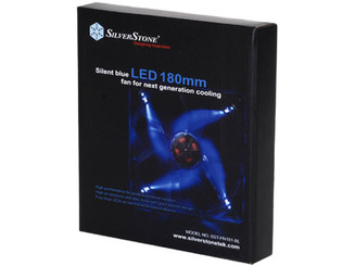 Silverstone FN181-BL 180x180x32mm Quad Blue LED fan