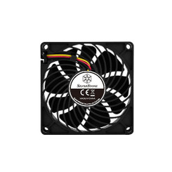 Silverstone SST-AP81 80x80x25mm Air Channeling PWM Fan, 3Pin PWM
