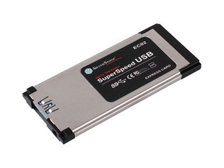 Silverstone EC02 Ultra Slim USB3.0  Express Card Adapter