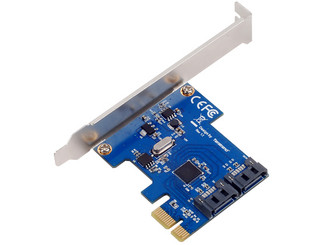 Silverstone SST-EC05 Dual Internal SATA 6Gbps Port PCI Express Card