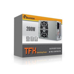 Solid Gear SDGR-TFX200 200W TFX12V V2.31 Power Supply
