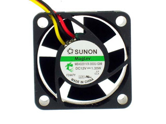 Sunon MB40201VX-000U-G99 40x40x20mm Vapo Bearing Fan, 3Pin