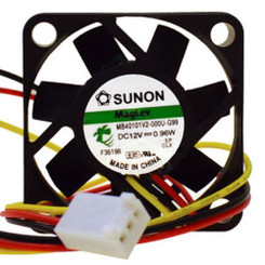 Sunon MB40101V2-000U-G99 40x40x10mm Vapo Bearing Fan, 3Pin