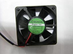 Sunon KDE1206PKB2 60x20mm Ball Bearing Fan, 3Pin
