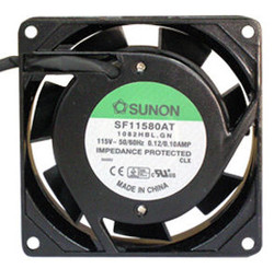 Sunon SF11580AT-1082HBL 80x25mm AC 110V Fan, Bare Wires