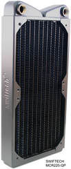 Swiftech MCR220-QP Quiet Power 2x120mm Radiator