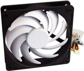 Swiftech HELIX-120-BW-PWM Helix 120x25mm 9 Blade PWM fan