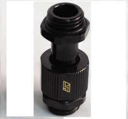 Swiftech G1/4-MMEXT-MEDIUM-BK G1/4 Male-Male Lok-Seal SLI/CrossFireX connector fitting (30 to 33mm)