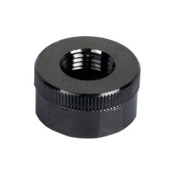 Swiftech  QC-NS-G1/4-F-BK Black Chrome Lok-Seal G1/4 Female End Cap